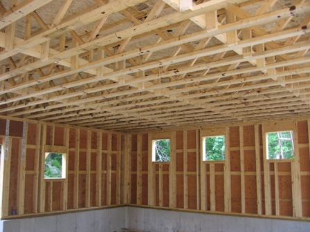 Buildings Floor trusses vs floor joists